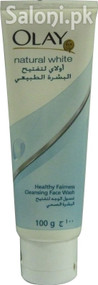 Natural White Healthy Fairness Cleansing Face Wash (Front)