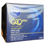 Nivea Q10 Plus Anti Wrinkle Night Cream 50 ML buy online best nivea night cream in pakistan
