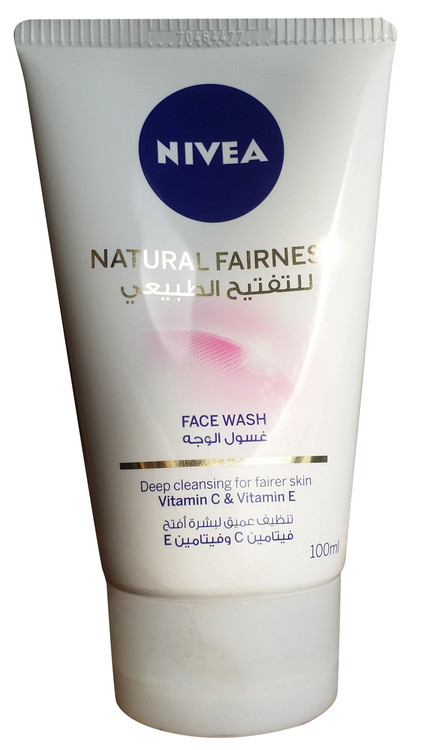 Nivea Natural Fairness Face Wash 100 ML buy online product in pakistan