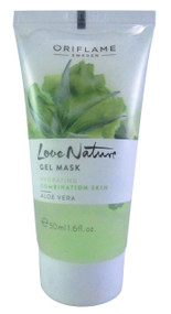 Oriflame Love Nature Gel Mask Aloe Vera for Combination Skin 50 ML