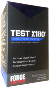 GNC Force Factor Test X180 Front