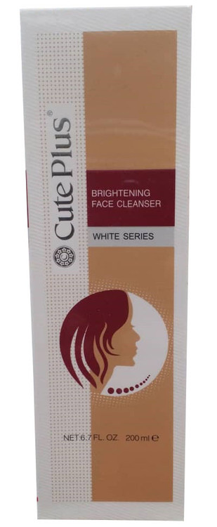 Cute Plus White Series Brightening Face Cleanser 200ml. Lowest price on Saloni.pk