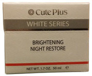 Cute Plus White Series Brightening Night Restore (Front)