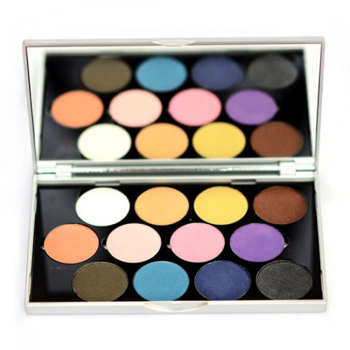 Stageline Eye Shadow Palette Matt 12 Shades