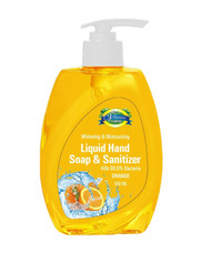 The Vitamin Company Liquid Hand Soap & Sanitizer Orange