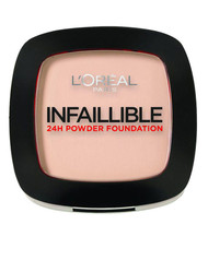 L`Oreal Paris Infallible 24H Compact Powder Foundation - 123 Warm Vanilla