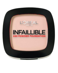 L`Oreal Paris Infallible 24H Compact Powder Foundation - 160 Sand Beige