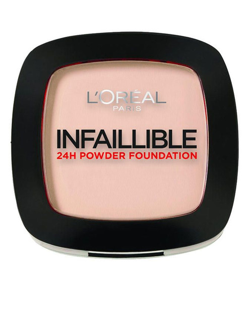 L`Oreal Paris Infallible 24H Compact Powder Foundation - 245 Warm Sand
