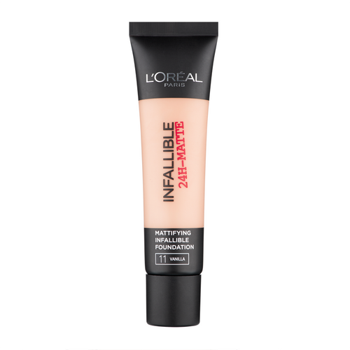 L`Oreal Paris Infallible 24H Matte Foundation - 11 Vanilla