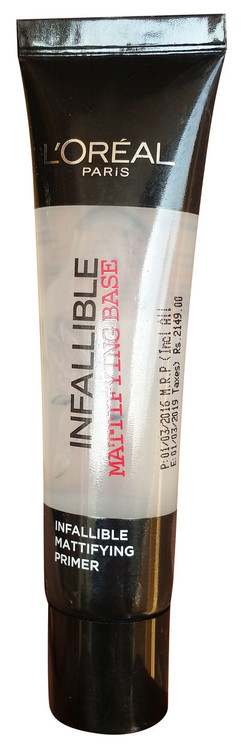 L`Oreal Paris L'Oreal Paris Infallible Primer Matte Base