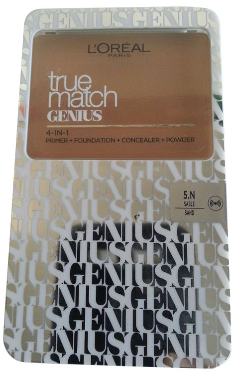 L`Oreal Paris True Match Genius Super Smart Foundation 5N Sable/Sand