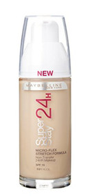 Maybelline Superstay 24H Foundation Nude 21