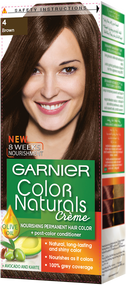 Garnier Color Naturals Hair Color Creme Brown 4