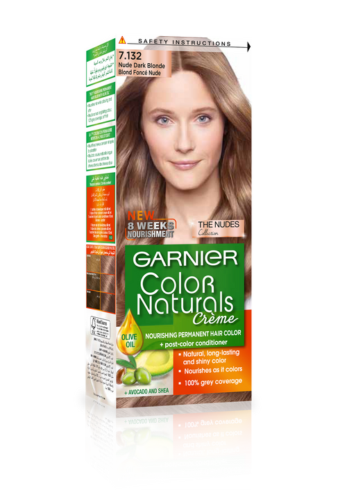 Garnier Color Naturals Hair Color Creme Nude Dark Brown 7132 Rs 429