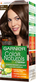 Garnier Color Naturals Hair Color Creme Dark Toffee 3.3