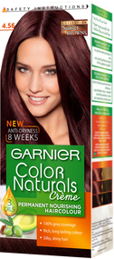 Garnier Color Naturals Hair Color Creme 4.56 Red Mahogany