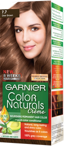 Garnier Color Naturals Hair Color Sparkle Deer Brown 7.7