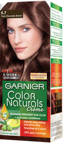 Garnier Color Naturals Hair Color Creme Sparkle Pure Chocolate Brown 6.7