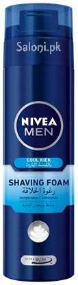 Nivea Men Cool Kick Shaving Foam