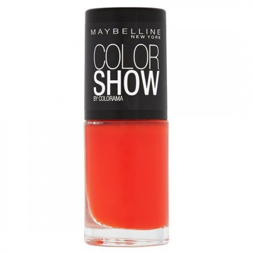 Maybelline Color Show Nail Polish - 341 Orange Attack