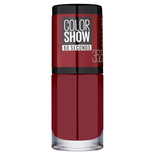 Maybelline Color Show Nail Polish Downtown Red 352