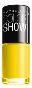 Maybelline Color Show Nail Polish - 749 Electric Yellow