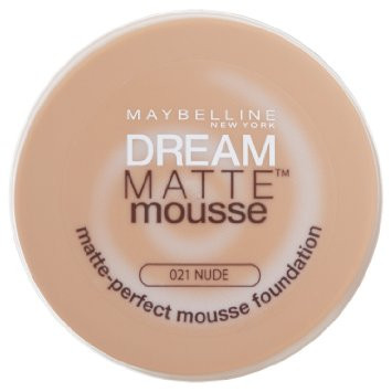 Maybelline Dream Matte Mousse Foundation 021 Nude Beige