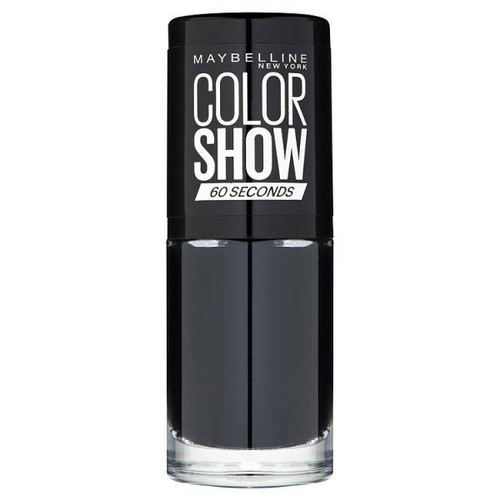 Maybelline Color Show Nail Polish - 677 Blackout