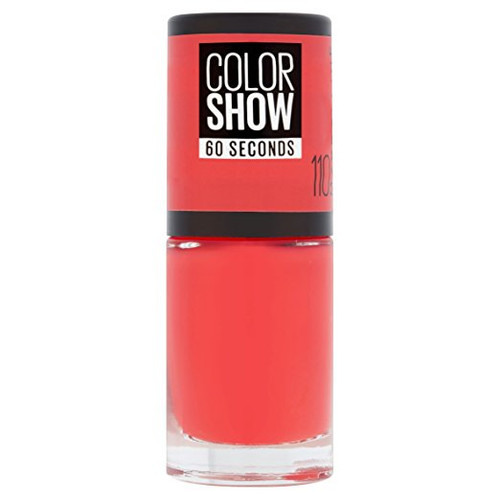 Maybelline Color Show Nail Polish Urban Coral 110