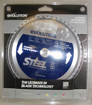 "EVOLUTION TCT 8"" STEEL-CUTTING SAW BLADE"