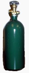 20 CF Welding Cylinder w/valve ARGON/NIT/HEL CGA580