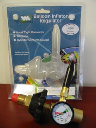 Weldmark Balloon Inflator Regulator - Hand Tight w/Gauge - CGA580