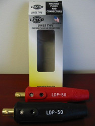 Lenco Dinse Type Machine Plug - LDP-50M-Set