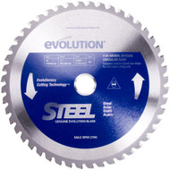 "EVOLUTION TCT 9"" STEEL-CUTTING SAW BLADE"