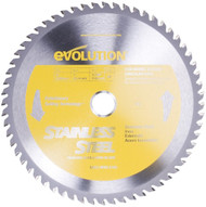 "EVOLUTION TCT 9"" STAINLESS STEEL-CUTTING SAW BLADE"