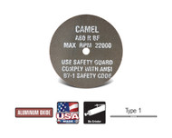 """CGW Camel - Cut-Off Wheels 3"""" x 1/32"""" x 3/8""""  A60-R-BF Qty50 35501"""