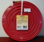 "Parker Grade R Twin Welding Hose - 25' x 1/4"" B&B Fittings - 7126NLF-300"