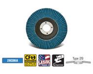 """CGW Camel - Flap Discs Z-Poly Economy XL 4-1/2"""" x 7/8""""  T29 - Qty 10 - 41764"""