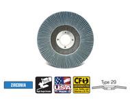 "CGW Camel - Flap Discs Z3 Ultimate  4-1/2"" x 7/8""  60-grit - Qty 10 - 54024"