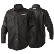Lincoln Electric Black FR Welding Shirt - K3113