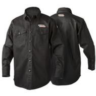 Lincoln Electric Black FR Welding Shirt - K3113
