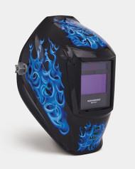 """Miller Genuine Digital Performance """"Blue Rage"""" Welding Helmet - 256164"""