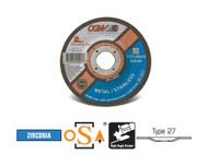 "CGW Camel - Cut-Off Wheels 4"" x .040"" x 5/8""  ZA60-S - Type 27 - Qty 25 - 45001"