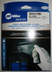 MILLER 216326 FRONT COVER LENS for ELITE SERIES - QTY 5