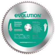 "EVOLUTION TCT 14"" ALUMINUM-CUTTING SAW BLADE"