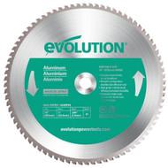 "EVOLUTION TCT 14"" ALUMINUM-CUTTING SAW BLADE"