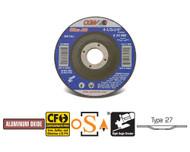 """CGW Camel Grinding Wheels 4-1/2"""" x 1/4"""" x 7/8""""  A24R T27 - Qty 25 - 35620"""