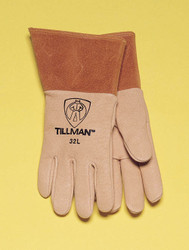 TILLMAN 32 TOP GRAIN PIGSKIN MIG WELDING GLOVES