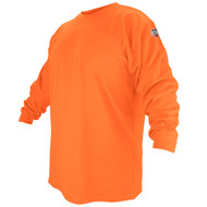 BLACK STALLION FR Cotton T-Shirt - Safety Orange Long Sleeve FTL6-ORA