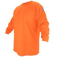 BLACK STALLION FR Cotton T-Shirt - Safety Orange Long Sleeve FTL6-ORA